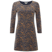 Buy White Stuff Golden Bird Jersey Tunic Top, Goose Grey Print Online at johnlewis.com