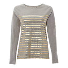 Buy White Stuff Highland Stripe Jersey Top Online at johnlewis.com