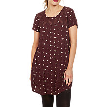 Buy Fat Face Copper & Black Lola Petal Floral Dress, Deep Berry Online at johnlewis.com