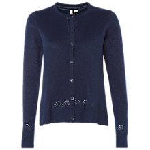 Buy White Stuff Baroque Sparkle Cardigan, Navy Online at johnlewis.com