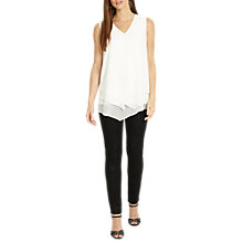 Buy Phase Eight Aida Sparkle Jeans, Black/Silver Online at johnlewis.com