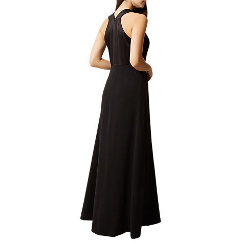 Buy Hobbs Eliana Tailored Maxi Dress, Black Online at johnlewis.com