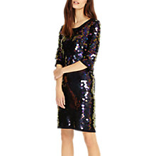 Buy Phase Eight Belda Sequin Dress, Navy Online at johnlewis.com