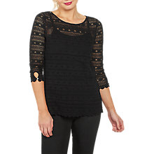 Buy Fat Face Verity 2 in 1 Lace Top Online at johnlewis.com
