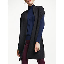 Buy Winser London Merino Wool Sleeveless Cardigan Online at johnlewis.com