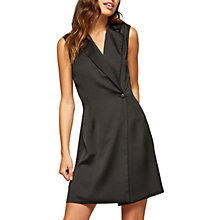 Buy Miss Selfridge Tux Dress, Black Online at johnlewis.com