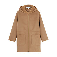 Buy Gerard Darel Groseille Coat, Cafe Online at johnlewis.com