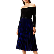 Buy Coast Tiana Pleated Skirt, Cobalt Blue Online at johnlewis.com