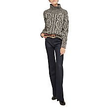 Buy Gerard Darel Sam Flared Jeans, Blue Online at johnlewis.com