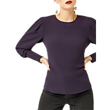 Buy Warehouse Puff Sleeve Top Online at johnlewis.com