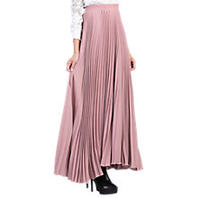 Buy Jolie Moi Pleated Crepe Maxi Skirt Online at johnlewis.com