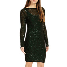 Buy Phase Eight Juana Sequined Dress, Pine Online at johnlewis.com