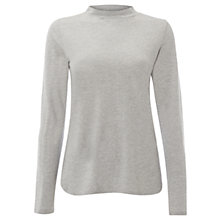 Buy White Stuff Turtle Jersey Top, Eden Grey Online at johnlewis.com