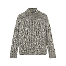 Buy Gerard Darel Lisiane Wool Jumper Grey Online at johnlewis.com