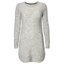 Buy White Stuff Lake Knitted Tunic, Grey Online at johnlewis.com