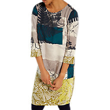 Buy White Stuff Eden Leaf Print Tunic Dress, Multi Online at johnlewis.com