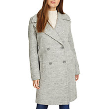 Buy Phase Eight Julissa Double Breasted Coat, Grey Marl Online at johnlewis.com