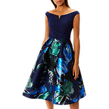Buy Coast Hamal Jacquard Full Hem Midi Dress, Multi Online at johnlewis.com