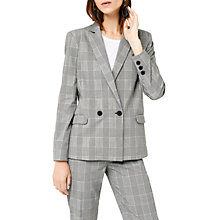 Buy Warehouse Mono Check Blazer, Multi Online at johnlewis.com