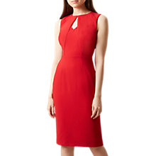 Buy Hobbs Amelie Dress, Red Online at johnlewis.com