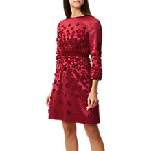 Buy Hobbs Lavinia Dress, Red Online at johnlewis.com