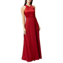 Buy Hobbs Eliana Tailored Maxi Dress, Red Online at johnlewis.com
