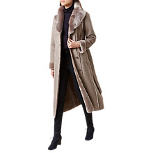 Buy Hobbs Holly Coat, Pottery Online at johnlewis.com