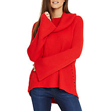 Buy Phase Eight Cateline Cowl Swing Knit Jumper Online at johnlewis.com