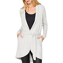 Buy Damsel in a dress Detachable Faux Fur Collar Cardigan, Winter White Online at johnlewis.com