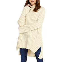 Buy Phase Eight Fae Chunky Step Hem Knitted Jumper Online at johnlewis.com