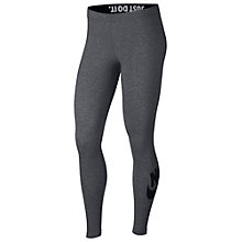 Buy Nike Slogan Sportswear Leggings Online at johnlewis.com