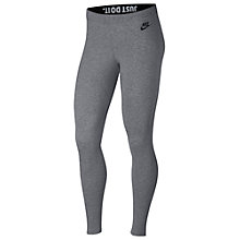 Buy Nike Just Do It Sportswear Leggings Online at johnlewis.com