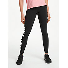 Buy Nike Just Do It Running Tights Online at johnlewis.com