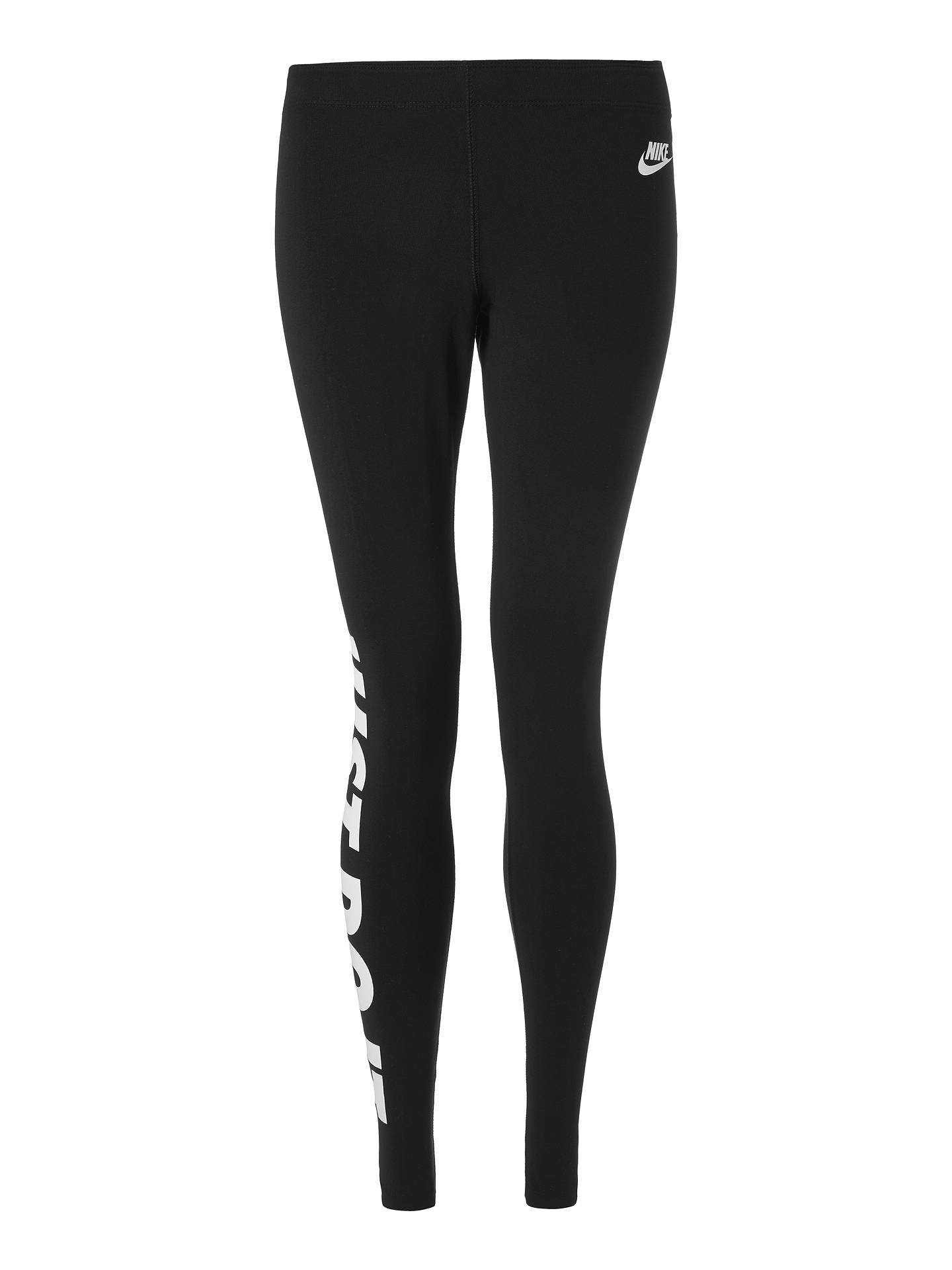 where to buy lowest discount well known Nike Just Do It Sportswear Leggings at John Lewis & Partners