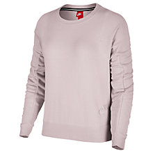 Buy Nike Sportswear Modern Crew Sweatshirt, Rose Online at johnlewis.com