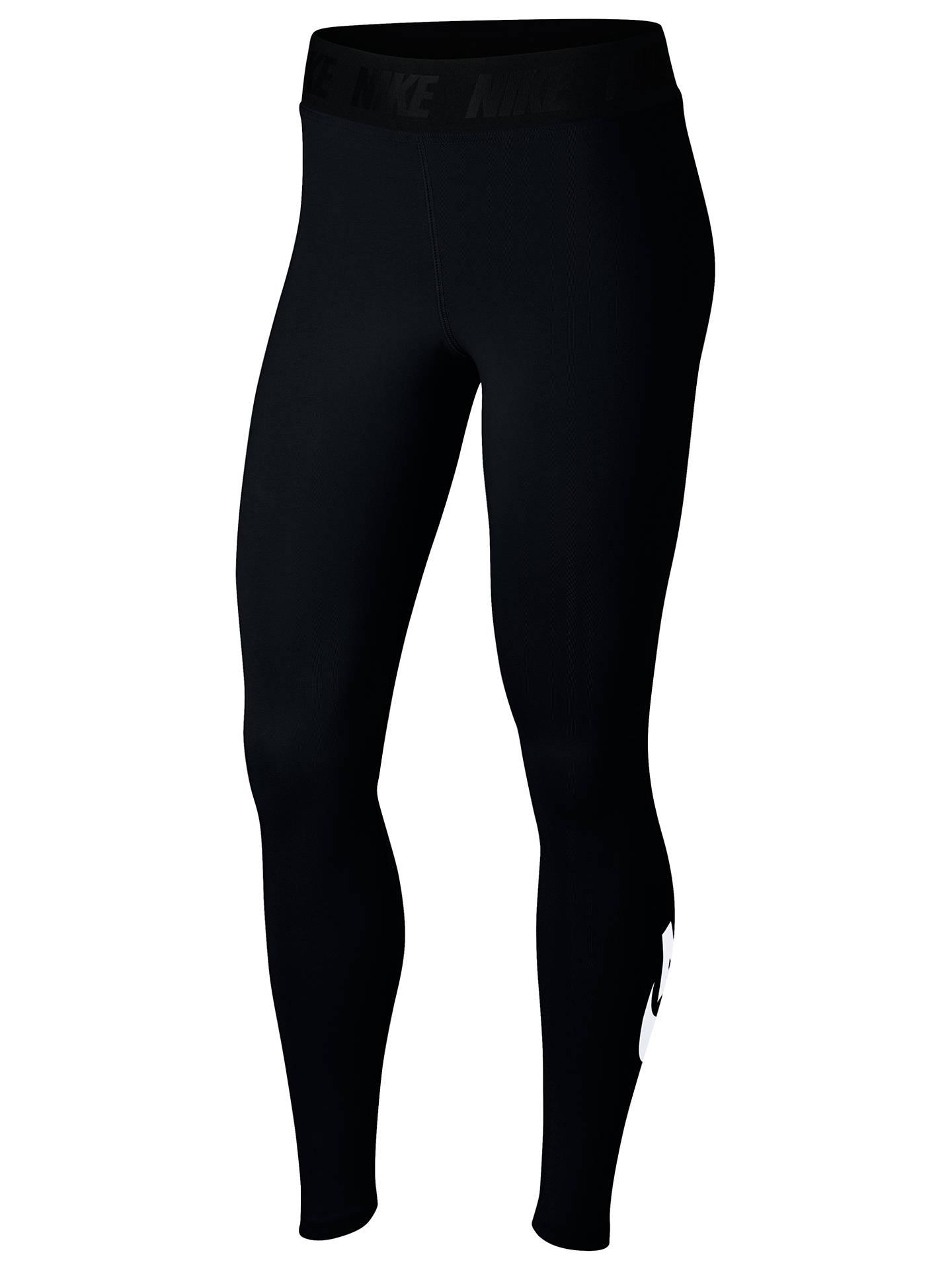 f195d2523be93 Buy Nike Sportswear Leg-A-See Leggings, Black/White, XS Online ...