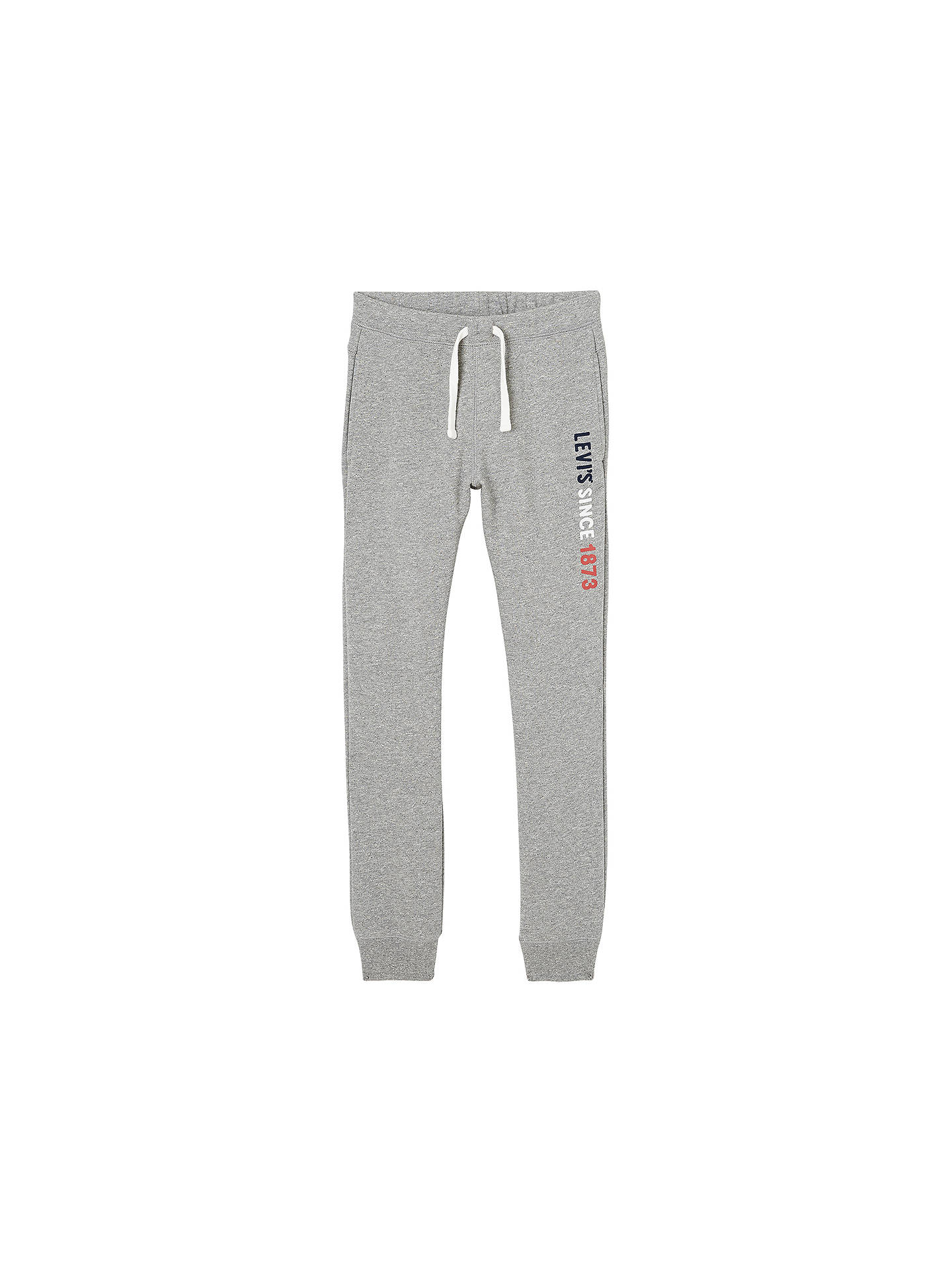 102d281ad Buy Levi's Boys' Corp Joggers, Grey, 4 years Online at johnlewis. ...