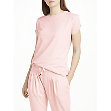 Buy John Lewis Slub Jersey Open Shoulder Pyjama Top, Pink Online at johnlewis.com