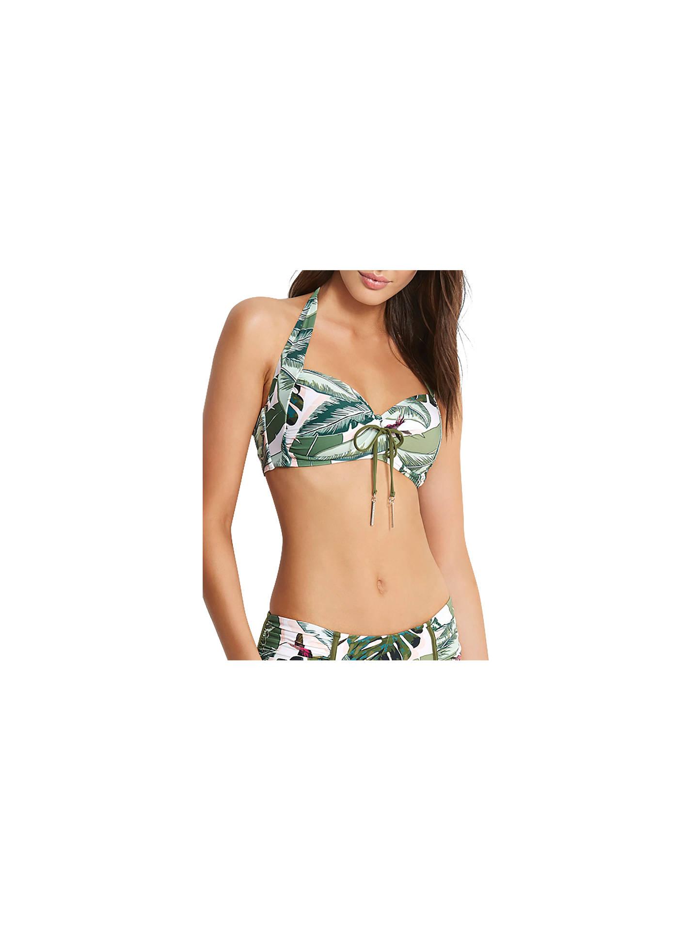 6a21a683e67ce BuySeafolly Palm Beach Soft Cup Halter Bikini Top