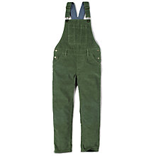 Buy Fat Face Girls' Cord Dungarees, Sage Online at johnlewis.com
