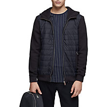Buy Reiss Hamish Quilted Jacket, Navy Online at johnlewis.com