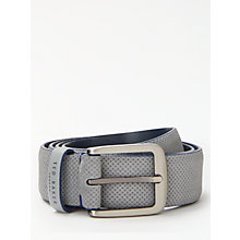 Buy Ted Baker Trinnie Perforated Suede Belt Online at johnlewis.com