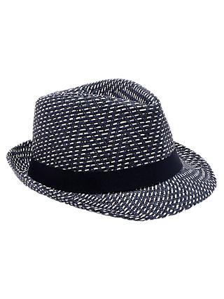7a6f0c24d48 Ted Baker Bislee Herringbone Trilby Hat