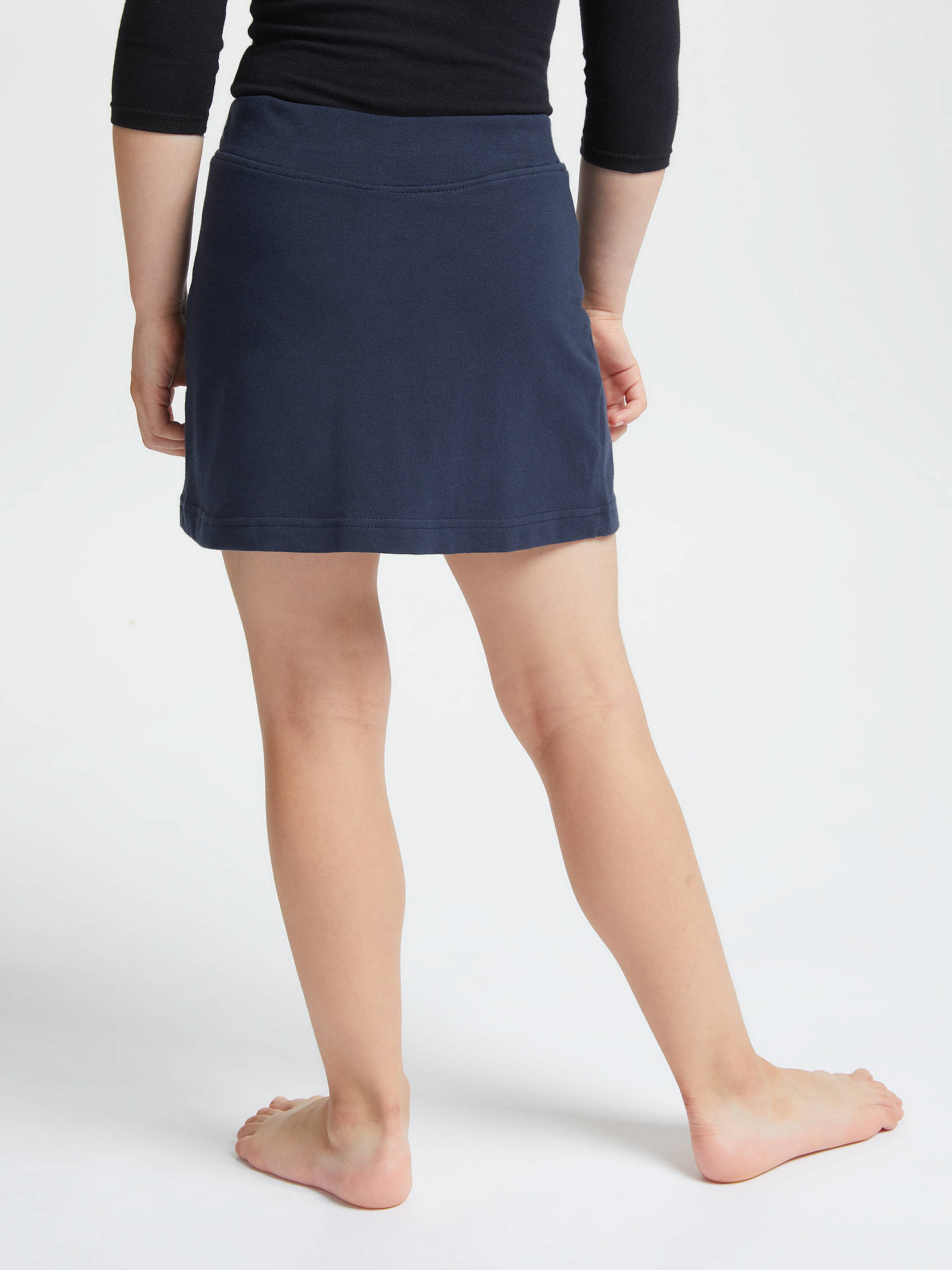 BuyJohn Lewis & Partners Girls' School PE Skorts, Navy, 5/6 years Online at johnlewis.com