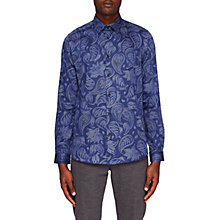 Buy Ted Baker Shoka Paisley Long Sleeve Shirt Online at johnlewis.com