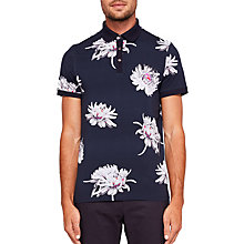 Buy Ted Baker Filter Floral Polo Shirt Online at johnlewis.com