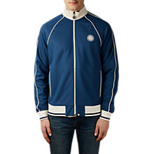 Buy Pretty Green Contrast Piping Track Jacket, Navy Online at johnlewis.com