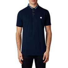 Buy Pretty Green Offshore Polo Shirt, Navy Online at johnlewis.com