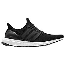 Buy Adidas Ultra Boost Women's Running Shoes, Core Black/Dark Grey Online at johnlewis.com