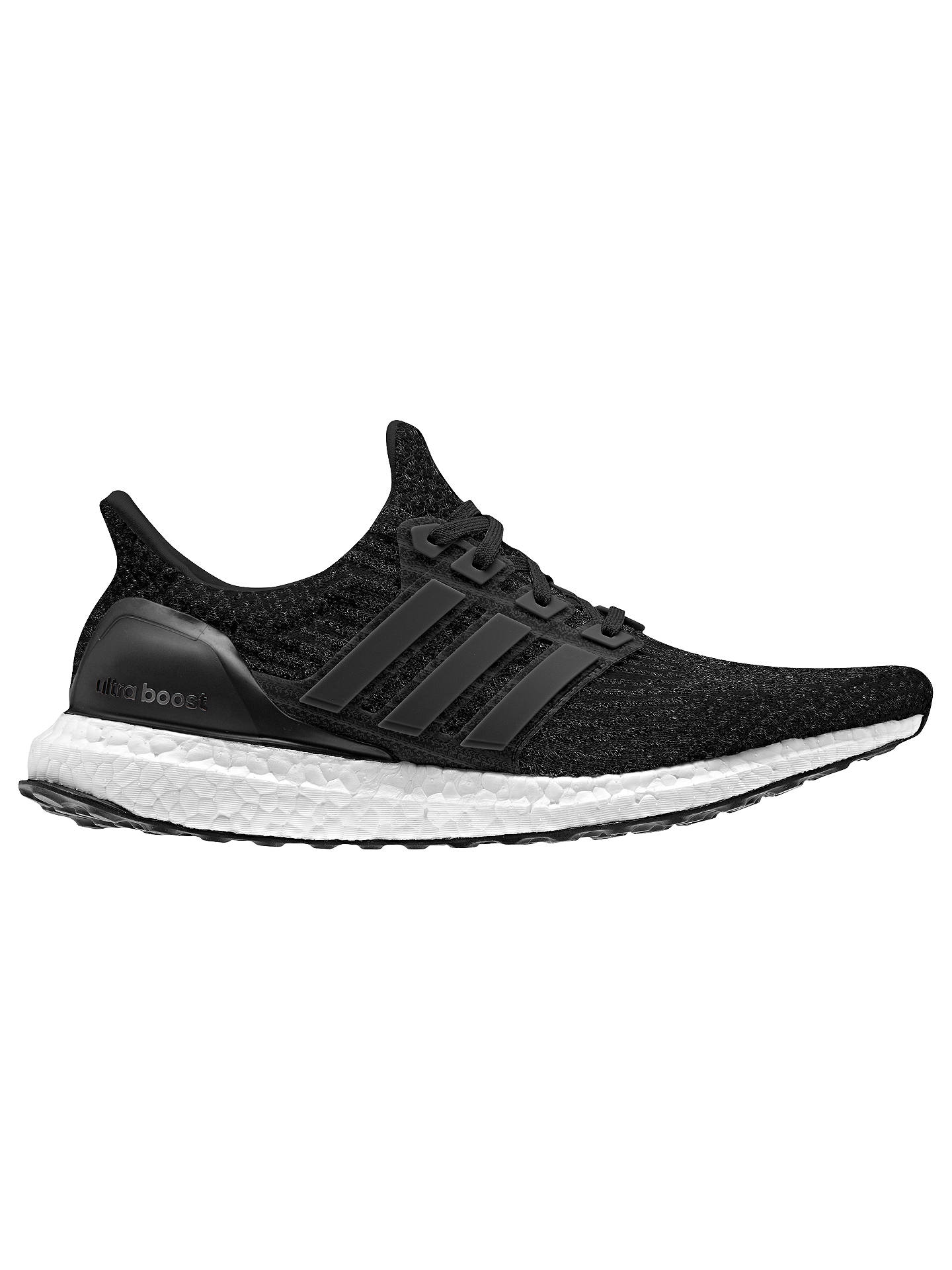 bc76c95ee8a adidas Ultra Boost Women's Running Shoes, Core Black/Dark Grey at ...